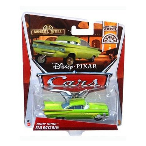 Disney Pixar Cars 2 Body Shop RAMONE - Voiture Miniature Echelle 1:55