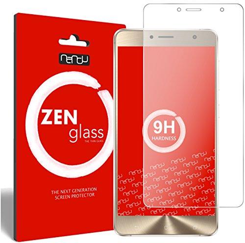 ZenGlass Flexible Glas-Folie kompatibel mit ASUS Zenfone 3 Deluxe ZS550KL 5,5 Zoll Panzerfolie I Bildschirm-Schutzfolie 9H