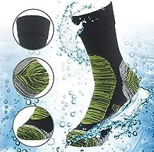 100% Waterproof Skiing Socks, RANDY SUN Mens' Half-Cushion Dry Warm Multisport Sock Moisture Control & Comfort Medium