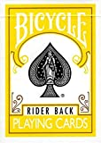 1 Deck of Bicycle Yellow Rider Back Playing Cards (Yellow) Standard Poker Size