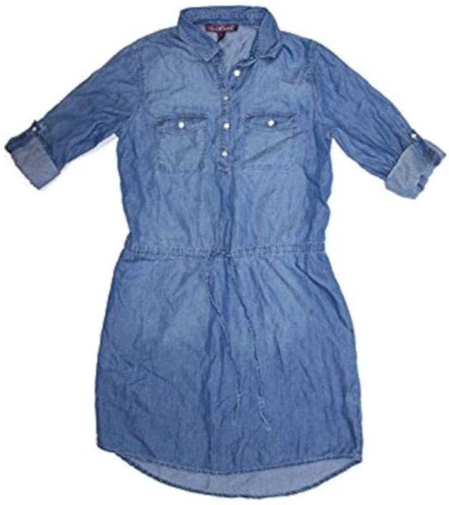 Gloria Vanderbilt Ladies Denim Dresses Shirt New products world's highest quality popular - Womens Chambray Boston Mall B