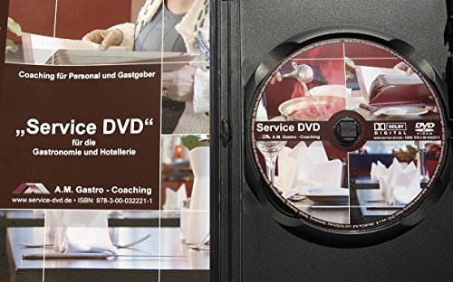 Service DVD für die Gastronomie und Hotellerie: für Privat oder Beruf, perfekter Gastgeber schnell und einfach werden, 3 Filmszenen und 10 ... im Restaurant, Hotel, Catering, Gastgewerbe