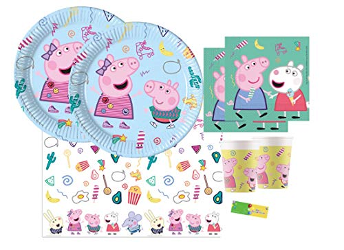 Chance SAS IRPot -Kit n3 Compleanno Party Peppa Pig