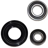 HQRP Bearing and Seal Kit compatible with Amana AP3970398 NFW7300WW00 NFW7300WW02 W10252722 Front Load Washer Tub