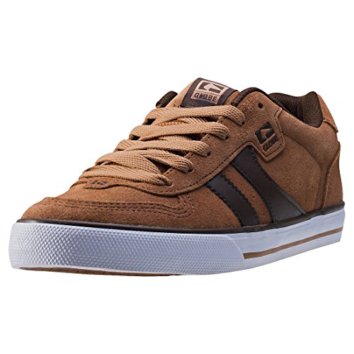 Globe Encore-2, Zapatillas de Skateboard Hombre, Multicolor (Tan/Brown), 40.5 EU (8 US)