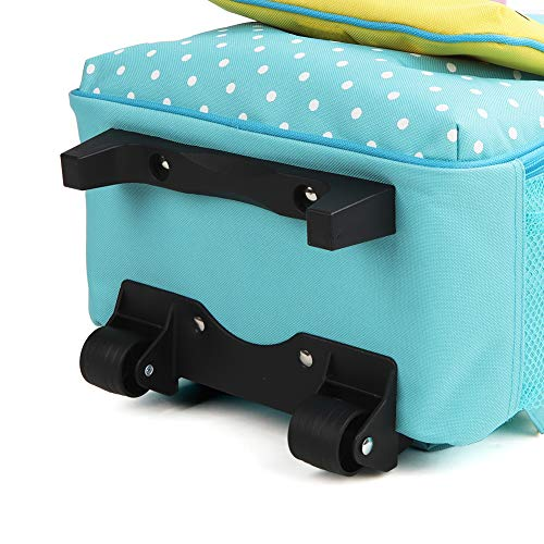 Yodo Zoo 3-Way Kids Suitcase Luggage or Toddler Rolling Backpack with wheels, Medium Unicorn