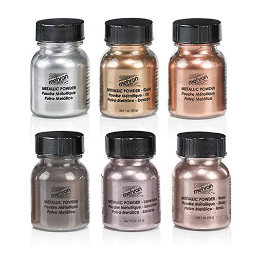 Mehron Metallic Powder Gold 30g