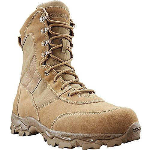 BLACKHAWK BT05CY095M Desert Ops Coyote 498 Boots, Coyote Tan, Size 9.5/Medium
