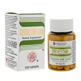 Chuan Xin Lian Herbal Supplement (Andrographis Extract) (Supports Throat, Respiratory System) (100 Tablets) (1 bottle)