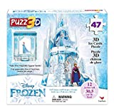 Spin Master Games-Frozen II, Puzzle in Plastica da 30 Pezzi, Il Castello di Ghiaccio di El...