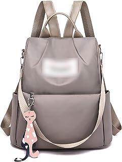 حقيبة ظهر أكسفورد للنساء من Hanyuemin ، قدرة المدرسة الثانوية المضادة للسرقة حقيبة ظهر كبيرة للسفر ، حقائب متعددة الاستخدا...