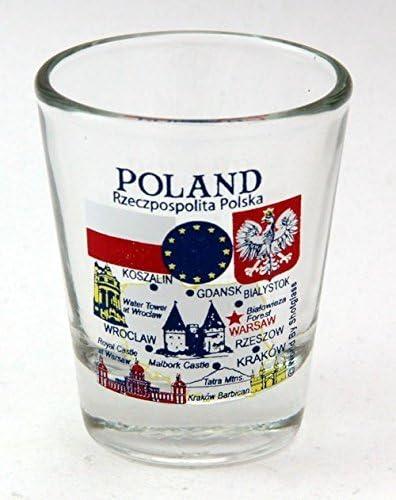 Ultra-Cheap Deals Poland EU Series Landmarks Shot and Luxury goods Glass Icons