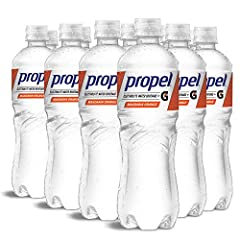 Contains twelve (12) 24-oz. bottles of Propel Water Mandarin Orange Flavored Water with Electrolytes, Vitamins and No Sugar With zero sugar and zero calories, Propel Bottled Water helps you get the most out of your workout Propel Mandarin Orange prov...