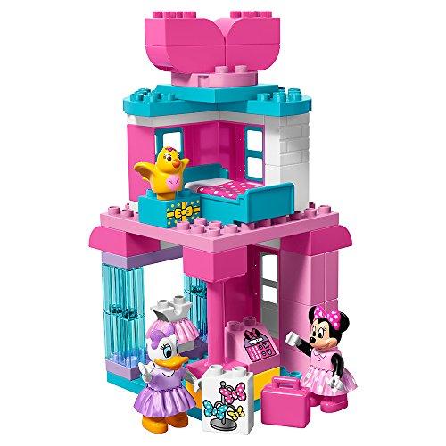 LEGO DUPLO Brand Disney Minnie Mouse Bow-Tique 10844 Building Kit (70Piece)
