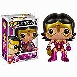 Funko - Figurine DC Heroes - Wonder Woman Star Saphir Metallic Exclu Pop 10cm - 0849803047405...