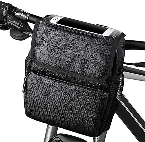 Pantalla táctil Bicicleta de Manillar Bolsa de Bicicleta Impermeable Bolsa de montaña Bolsa de Bicicleta Bolsa Bicicleta Bicicleta Manillar Caja
