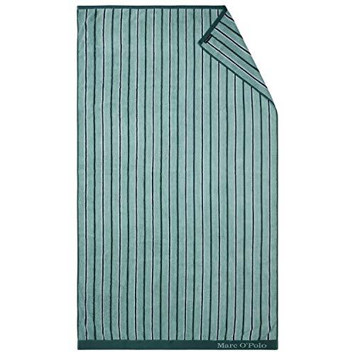 Marc O?Polo Strandlaken Verta Blue 100x180 cm 100% katoen badstof strandlaken badlaken handdoek saunahanddoek badlaken badstof hamamdoek strandvakantie zwembad strand