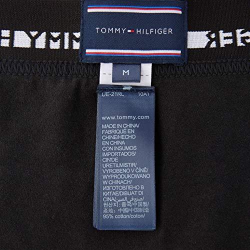 Tommy Hilfiger Men's 3p Lr Trunk Boxer Shorts, Black, M UK