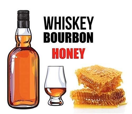 Premium Liquid Aroma zum selber mischen von E-Liquid für die E-Zigarette E-Shisha (Whisky Bourbon Honey)