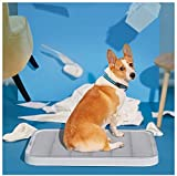 BNNBT Pet Interna ed Esterna WC Cucciolo vasino formatore Portatile Pet Toilet Training Pet Bar Staffa Tappeto con la Colonna