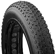 Mongoose Fat Tire Bike Tire, Mountain Bike Accessory, 20 x 4 inch , Black