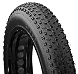 Mongoose Fat Tire Bike Tire, Mountain Bike Accessory, 20 x 4 inch , Black