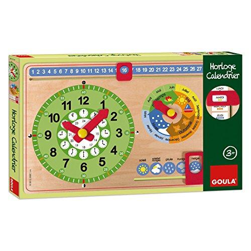 Goula - 51318 - Horloge Calendrier