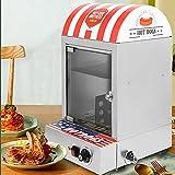 Olla de Hot-Dogs, 1500 W, máquina de Hot-Dog de acero inoxidable, con rango de temperatura de 30 a 110 °C, para cocinas,...
