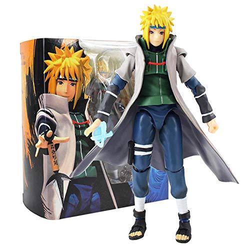 CXNY 14cm Naruto Action Figure Sasuke Namikaze Minato Action Figures Toys