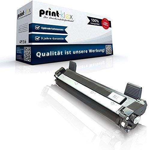 Print-Klex kompatible XXL Tonerkartusche für Brother DCP 1510 DCP 1512 DCP 1512 A DCP 1601 Schwarz - Premium Office Serie