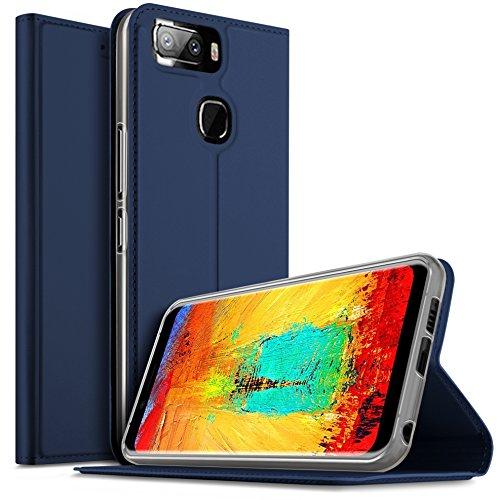 Leagoo S8 Pro Hülle, iBetter Leagoo S8 Pro Flip Bookstyle Kompletter Hüllen Mit Magnetverschluss & Standfunktion Tasche Etui Hüllen Schutzhülle für Leagoo S8 Pro Smartphone (Blau)