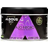 Auténtico Ajo Negro Ecológico Español   Producto Gourmet   Dientes Pelados Calidad Premium   Máxima frescura y Sabor   Libre de Plástico   Certificación Ecológica Oficial (100g)