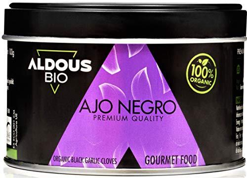 Auténtico Ajo Negro Ecológico Español | Producto Gourmet | Dientes Pelados Calidad Premium | Máxima frescura y Sabor | Libre de Plástico | Certificación Ecológica Oficial (100g)