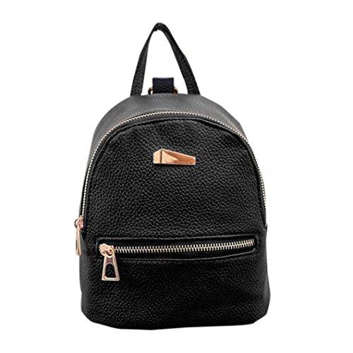 mochila vans negra mujer escolar