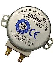 ZkeeShop TYJ508A7 magnetron TYJ50-8A7 4W 5/6 RPM 11mm synchroonmotor spindel draaiplatenmotor