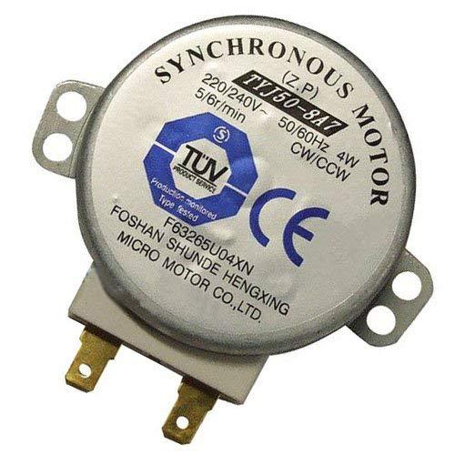 ZkeeShop TYJ508A7 Mikrowelle TYJ50-8A7 4W 5/6 RPM 11mm Synchronmotor Spindle Drehteller-Motor
