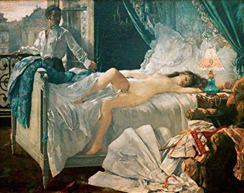 "Kunst für Alle Impresión artística/Póster: Henri Gervex Rolla 1878"" - Impresión, Foto, póster artístico, 90x70 cm"