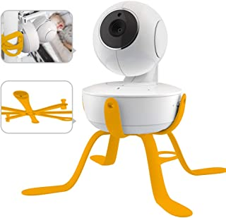 ChillaxBaby Universal Baby Monitor Mount - Adjustable Small Baby Camera Mount - Baby Monitor Holder Compatible with Motoro...