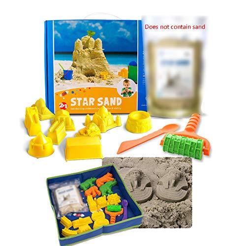 Kinderen sandboxes bureau indoor zandbak spelen zandkasteel strand plezier spelen pierenbad tafels put water speelgoed, buiten de zomer strandzand emmer pak