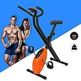 DFGHJKNN Folding Cycling Exercise Bike Indoor Fitness Training Bike Lightweight for Home Cardio