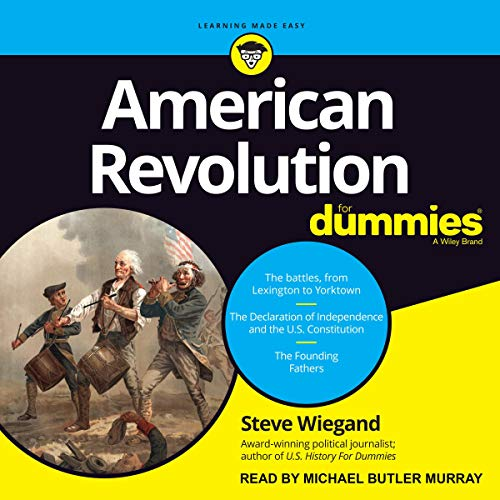 American Revolution for Dummies audiobook cover art