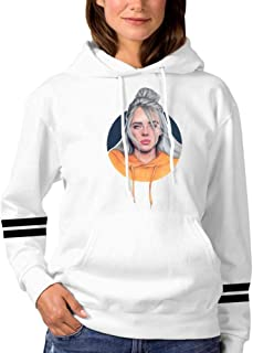 Men Women Sweatshirt Hoodie Billie Bad Eilish Fashion Long Sleeve T-Shirt