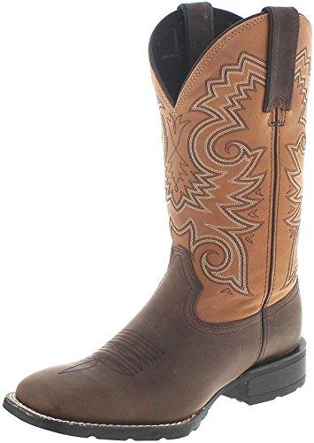 Durango Boots Mustang DDB0082 Dark Brown Peanut/Herren Westernreitstiefel Braun/Westernstiefel/Herrenstiefel Dunkelbraun, Groesse:42.5 (9.5 US)