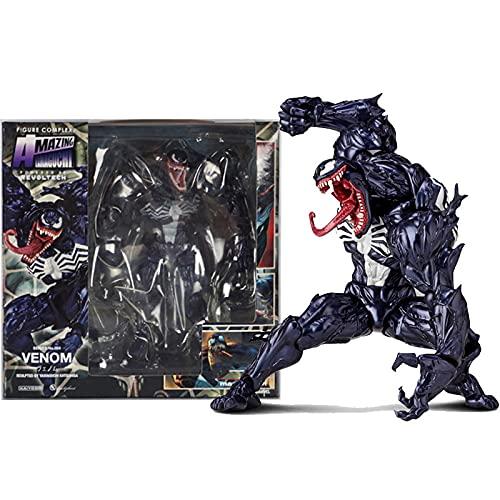 Marvel Venom In Movie The Amazing Spiderman Bjd Figure Model Toys 18Cm Action Figure In PVC Raccolta Di Giocattoli Modello Come Regali per I Bambini