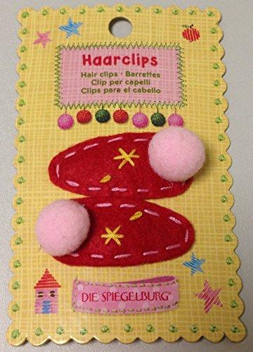 Spiegelburg 11765 Haarclips Fröhliche Weihnacht überall - sortiert, Preis pro 1 Stück