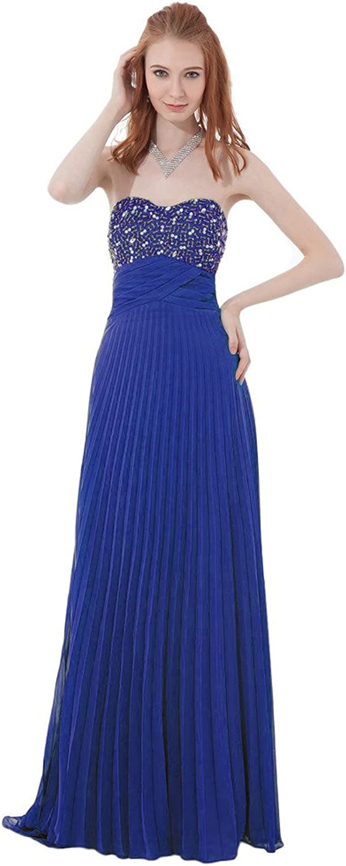 SecretCastle Women's Sweetheart Long Prom Dresses Evening Dress