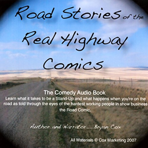 Road Stories of the Real Highway Comics audiobook cover art