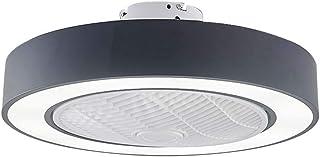 Ventiladores Para El Techo Con Lámpara, 72W, LED Lámpara De Techo Moderna Regulable, Ventilador Techo Con Luz Y Mando A Distancia For La Habitación De Los Niños / Dormitorio ( 3 Palas De ABS)