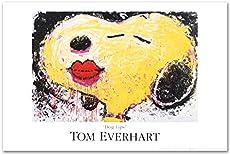 "Tom Everhart""Dog Lips"" PEANUTS Fine Art Poster"