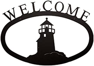 Lighthouse Welcome Sign SM